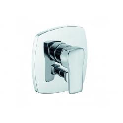 Q-BEO, Mitigeur de bain/douche à encastrer, chromé (506500565)