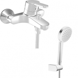 PRADO Mitigeur monocommande de baignoire avec douchette à main (0144217300003)