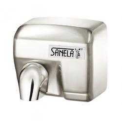 Sèche main automatique en acier inoxydable, fixation murale (SLO 02E)