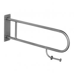 Barre d'appui WC en acier inoxydable, 900mm (SLZM 03DXP)