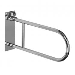 Barre d'appui WC en acier inoxydable, 830mm (SLZM 03SD)