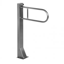 Barre d'appui en acier inoxydable avec support, 830mm (SLZM 07D)
