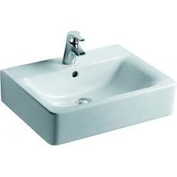 CONNECT lavabo 550 x 460 x 170 mm, Blanc IdealPlus (E7139MA)