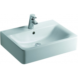 CONNECT Lavabo 600 x 460 x 170 mm blanc IdealPlus (E7141MA)