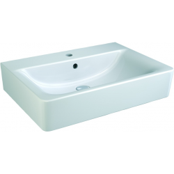 CONNECT lavabo 650 x 460 x 170 mm,blanc (E772901)