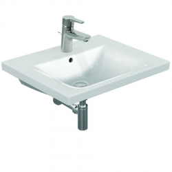 CONNECT Lavabo 850 mm porcelaine blanc (E812901)