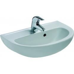 EUROVIT Lave-mains 125 x 500 x 350 mm, blanc (V200101)