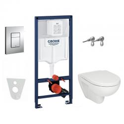 Pack WC complet avec cuvette JIKA (Groupe Roca-Laufen) et abattant SOFTCLOSE