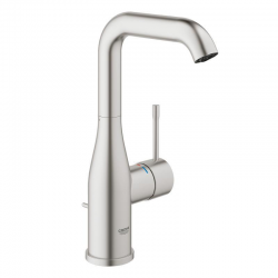 ESSENCE NEW - Mitigeur monocommande Lavabo Taille L SuperSteel (32628DC1)
