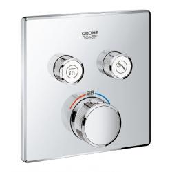 Grohtherm SmartControl Thermostatique pour installation encastrée 2 sorties (29124000)