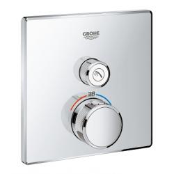 Grotherm Smart Control New - Thermostatique pour installation encastrée 1 sortie (29123000)