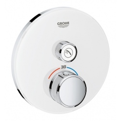 Grotherm Smart Control New - Thermostatique pour installation encastrée 1 sortie (29150LS0)