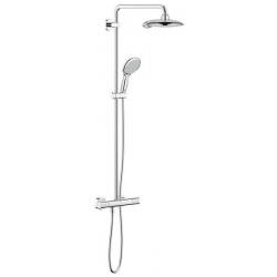 EUPHORIA POWER&SOUL SYSTEM 190 - Système de douche avec thermostatique mural (26186000)