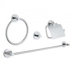 Grohe Les essentiels Set d'accessoires (40776001)