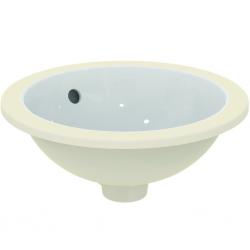 Connect lavabo à sous-encastrer 380 x 165 x 380 mm, blanc (E505201)