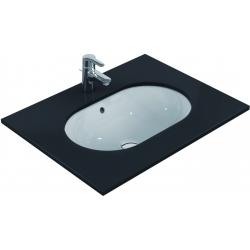 CONNECT Lavabo à sous-encastrer ovale 620 x 175 x 410 mm, blanc (E505001)