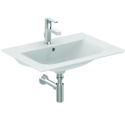 CONNECT AIR Lavabo-plan 64 x 46 cm Blanc IdealPlus (E0289MA)