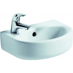 CONNECT Lave-mains Version gauche 350 x 155 x 260 mm blanc (E791201)