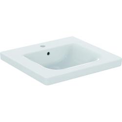 CONNECT FREEDOM Lavabo pour personnes à mobilité réduite 600 x 165 x 555 mm blanc IdealPlus (E5482MA)