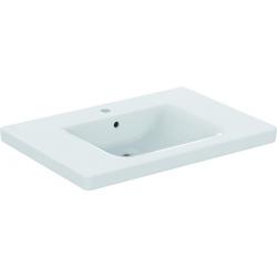 CONNECT FREEDOM Lavabo pour personnes à mobilité réduite 800 x 165 x 555 mm, blanc IdealPlus (E5484MA)