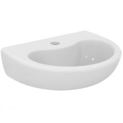CONTOUR 21 Lavabo 40 cm , 1 trou, sans trop-plein 400 x 135 x 330 mm, blanc IdealPlus (S2639MA)