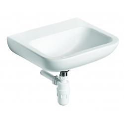 CONTOUR 21 Lavabo 500 x 195 x 420 mm (sans trou ni ouverture), blanc (S241301)