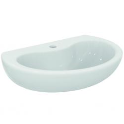 CONTOUR 21 Lavabo , 1 trou, sans trop-plein 600 x 155 x 415 mm, blanc (S266401)