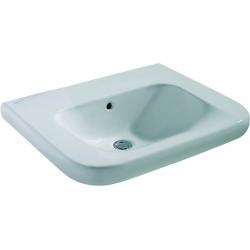 CONTOUR 21 Lavabo pour personnes à mobilité réduite (sans trou ) 600 x 175 x 555 mm blanc (S240401)