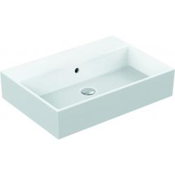 STRADA Lavabo sans trou percé 600 x 420 x 145 mm blanc IdealPlus (K0797MA)