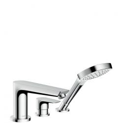 Talis E Set de finition mitigeur 3 trous pour montage sur bord de baignoire (71731000)