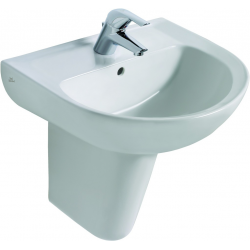 EUROVIT Lavabo 215 x 550 x 445 mm, blanc (V154001)