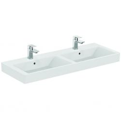 STRADA Lavabo double 121 x 45,5 cm blanc (K079101)