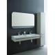 TONIC II Double lavabo trop-plein caché, 2 trous 215 x 490 x 170 mm, blanc (K087301)
