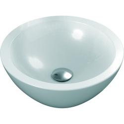STRADA Lavabo à poser 425 x 425 x 160 mm, blanc (K078301)