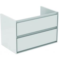 CONNECT AIR Meuble pour lavabo-plan 517 x 800 x 440 mm Couleur gris plume brillant (E0819EQ)