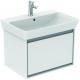 CONNECT AIR Meuble lavabo Cube 1 tiroir 650mm ,400 x 585 x 412 mm Couleur Chêne cérusé (E0847UK)