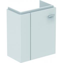 CONNECT SPACE Meuble lave-mains 450 mm gauche pour lave-mains (E132201) 436 x 520 x 243 mm Couleur Orme gris (E0370KS)