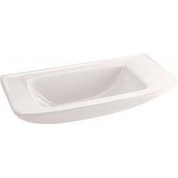 EUROVIT Lave-mains 500 mm sans trou, blanc (R421001)