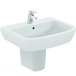 TEMPO Lavabo 650 x 525 x 184 mm, blanc (T056301)