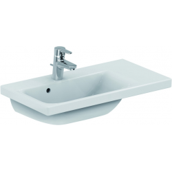 CONNECT SPACE Lavabo Space 700 mm droite blanc 700 x 175 x 380 mm (E132801)