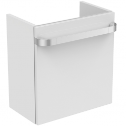 TONIC II Meuble pour lavabo 450x260x480mm Version droite Couleur laqué blanc brillant (R4306WG)