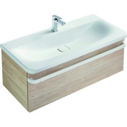 TONIC II Meuble pour lavabo 100 x 44 x (H) 35 cm sablon brillant (R4304FC)