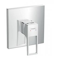 Metropol Set de finition pour mitigeur douche encastré, poignée étrier, chromé (74565000)