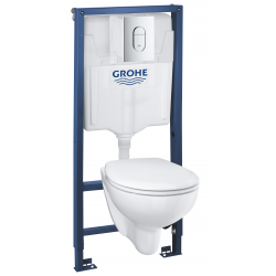 Nouveau Set WC Rimless Grohe BAU CERAMIC (39418000)