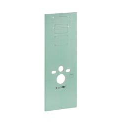 Plaque d'habillage WC pour bâti-support Duofix (111.855.00.1)