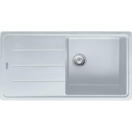 BASIS - Evier Granit BFG 611, 970x500 mm, blanc artic (114.0285.303)