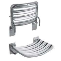 Siège de douche, 490mm x 340mm, acier inoxydable (H3897180030001)