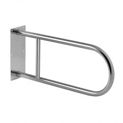 Barre d'appui WC en acier inoxydable, 550mm (SLZM 03)