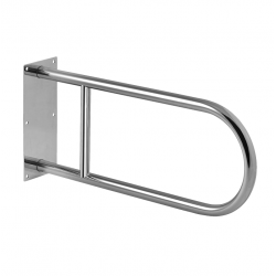Barre d'appui WC en acier inoxydable, 550mm (SLZM 03X)