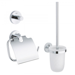 Essentials Set d'accessoires 3 en 1, chrome
